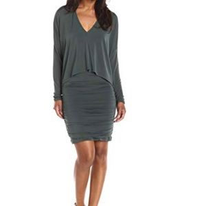BCBG Olive Green Dress. NEVER WORN